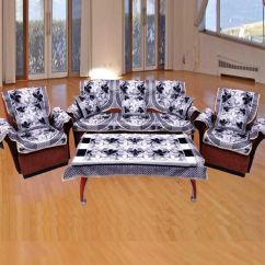 Sofa Covers Low Price Discount Sofas Raleigh Nc Fk 6 Seater Polycotton Set Of 19 Buy Online At Snapdeal