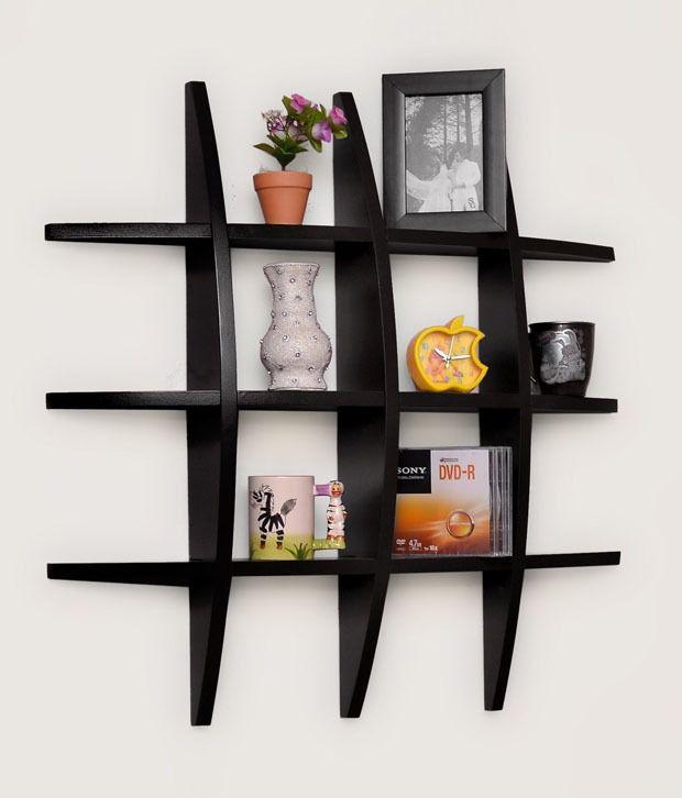 note shaped shelf