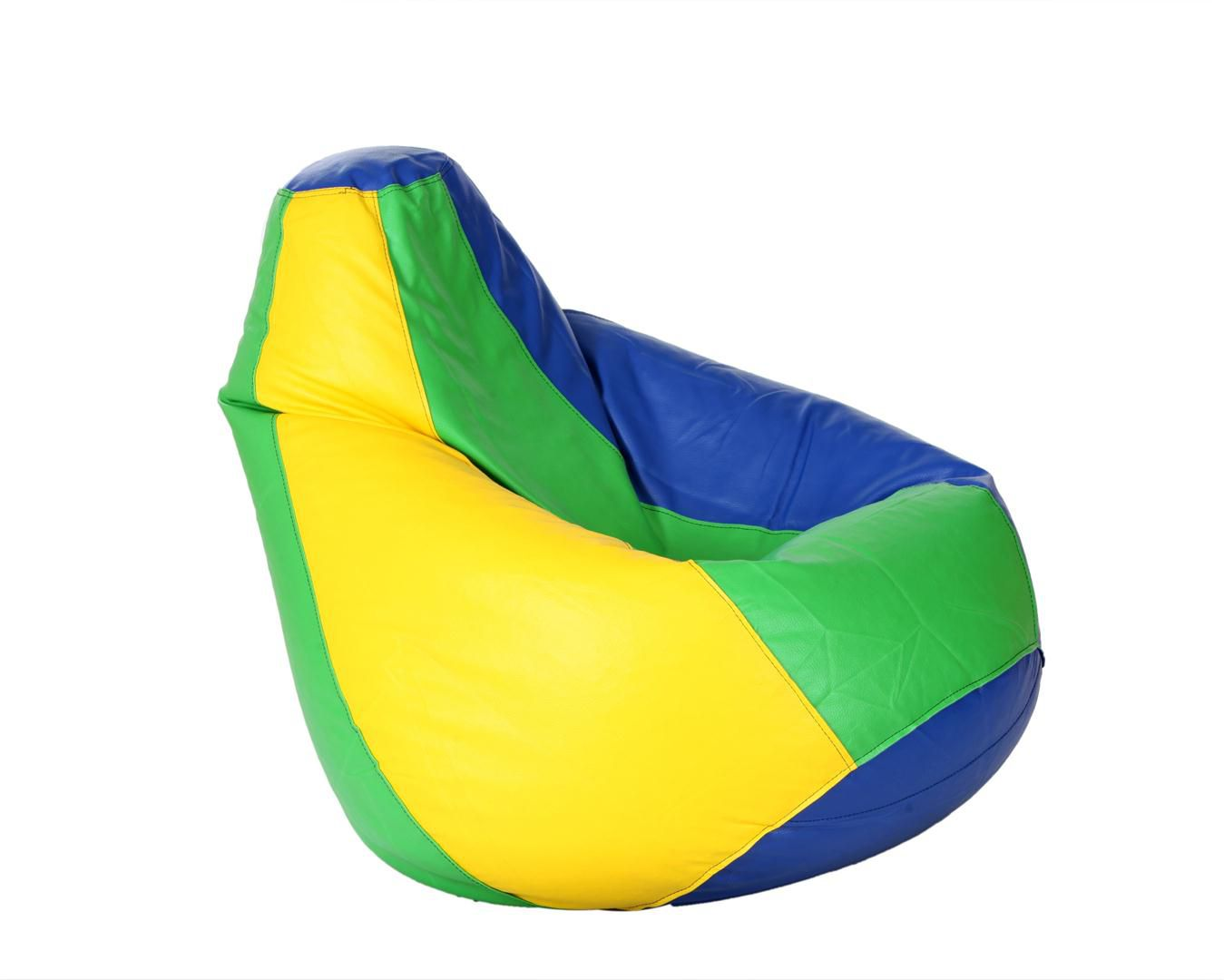 bean bag sofas india sitting room sofa pictures comfy xxl with beans in blue green and yellow