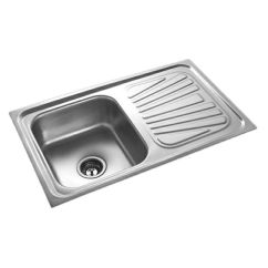 Ss Kitchen Sinks Counter Lights Buy Radium Stainless Steel Sink Online At Low Price In India Snapdeal
