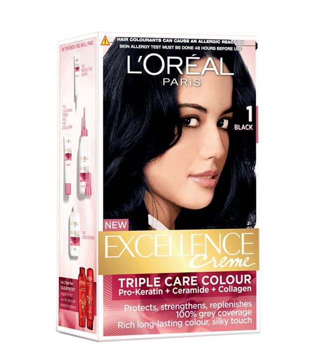 Loreal Excellence Natural Black No1 Hair Color 172 Ml