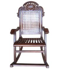 Pindia Fancy Hand Carved Rocking Chair: Buy Online at Best ...
