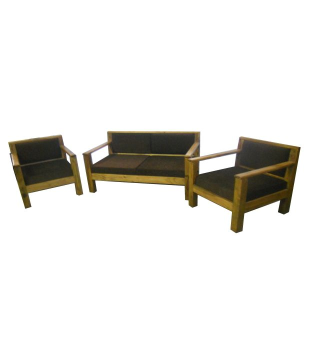 simple wooden sofa set online natuzzi sanremo leather corner recliner sheesham wood 2 1