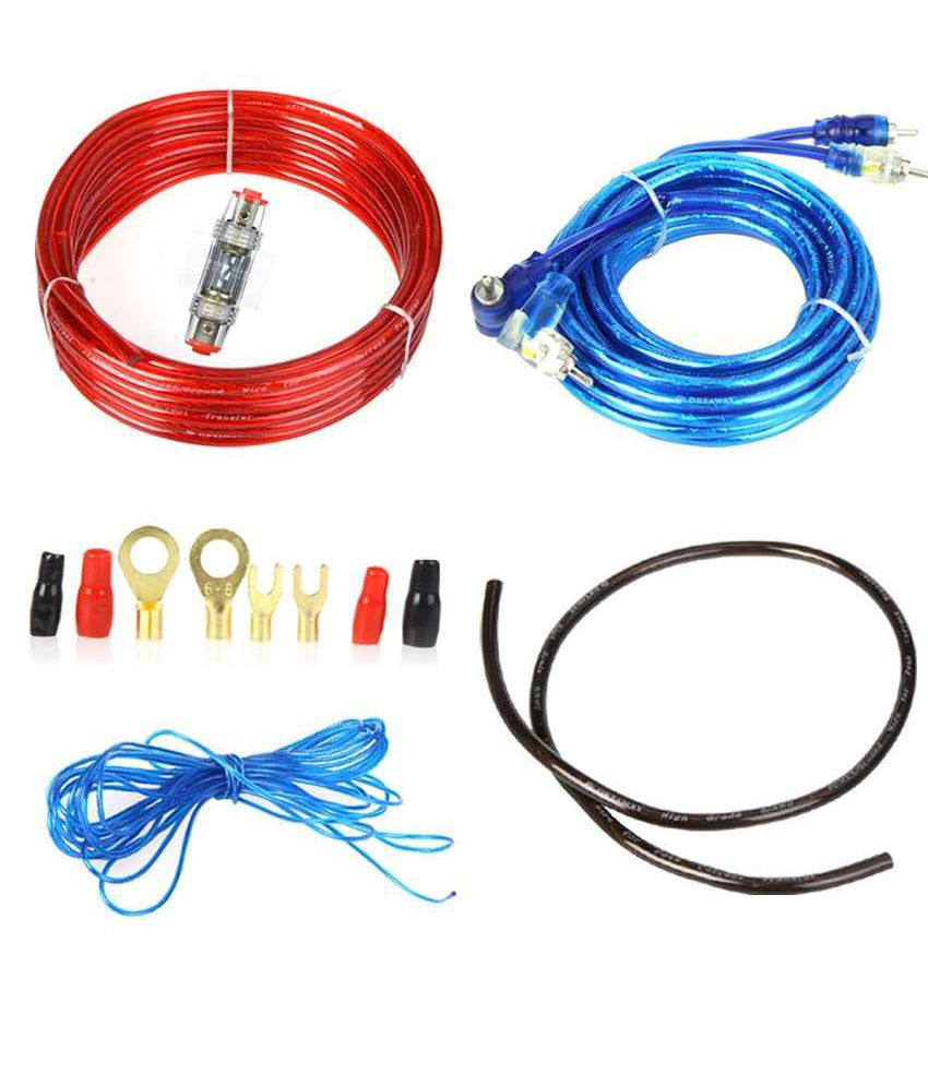medium resolution of blue i 8 gauge amplifier amp wiring kit with 2 4 channel converter buy blue i 8 gauge amplifier amp wiring kit with 2 4 channel converter online at low