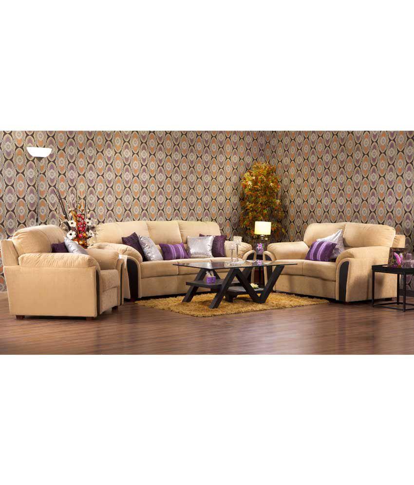 Hometown Ohio Fabric 3 2 1 Sofa Set