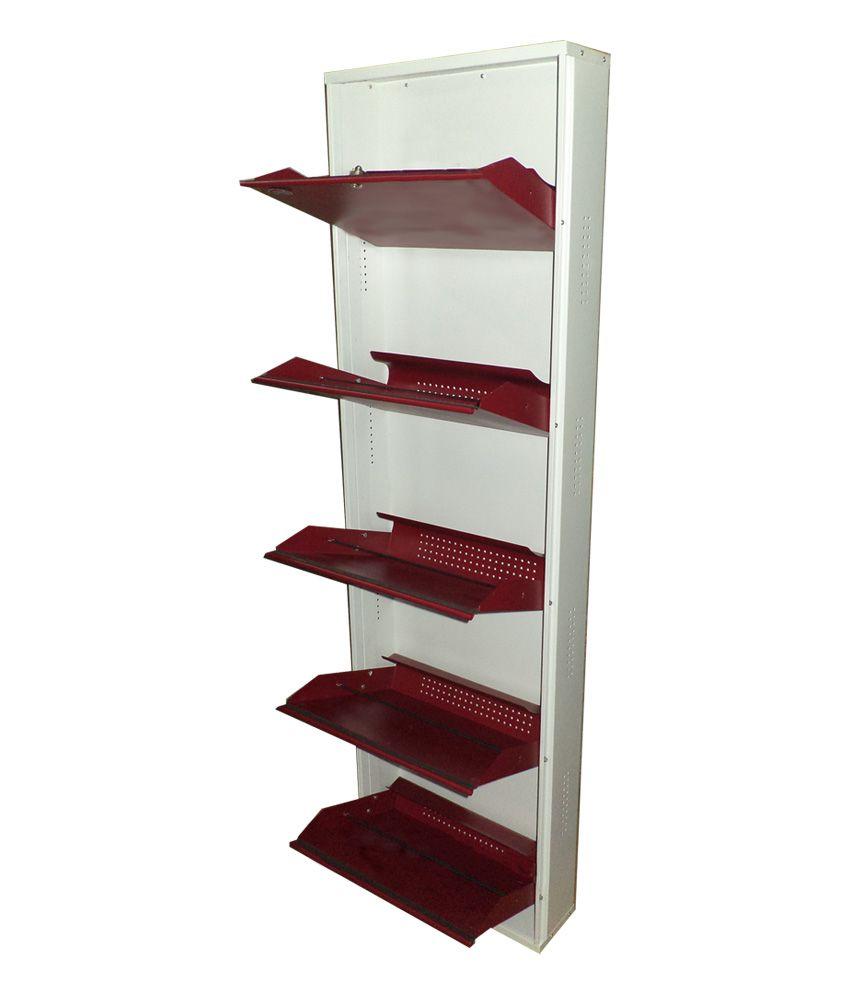 wall mounted shoe storage