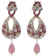 Sp Jewellery Peach Drop Earrings: Buy Sp Jewellery Peach ...