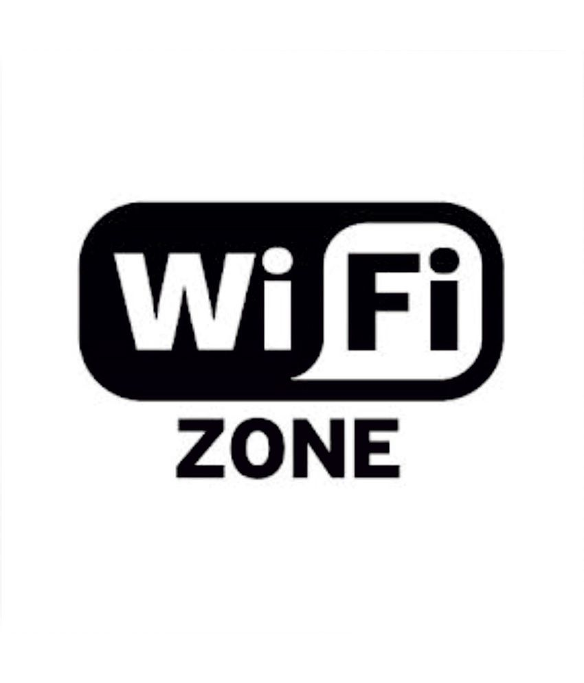 clickforsign wifi zone sticker