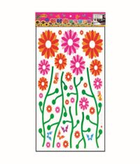 Pindia Pink Flowers Wall Sticker Best Price in India on