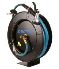 Zephyr 1/2 X 50Ft Retractable Rubber Water/Garden Hose ...