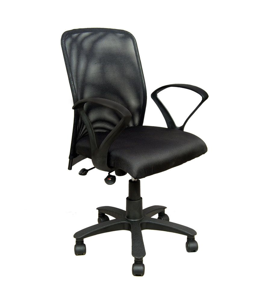 revolving chair india office exercises for legs net back - buy online at best prices in ...