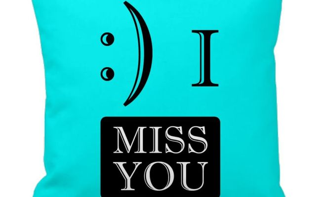 Tiedribbons I Miss You Gifts For Friend Cushion Cover Buy