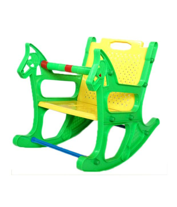 rocking chair kids weaving rope seats colors ajanta royal buy online at low price snapdeal