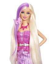 barbie long hair with color change