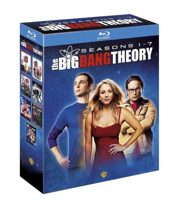 Big Bang Theory Season 1-7 Blu-ray English Online In India - Snapdeal
