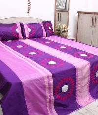 Kala Sansar Fancy Bed Cover Set - Buy Kala Sansar Fancy ...