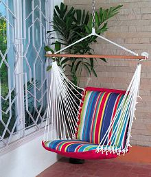hanging chair flipkart high tray buy swings hammocks online at best prices in india on snapdeal quick view