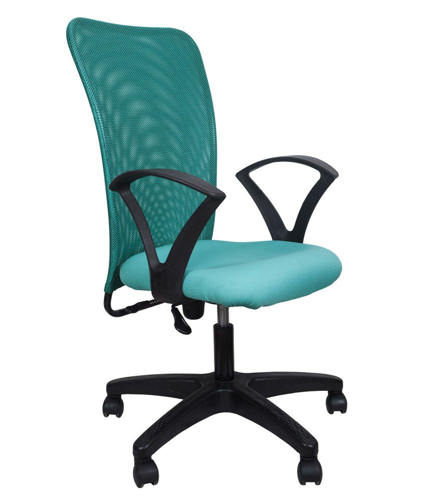 turquoise office chair yellow leather in buy online at best prices india on snapdeal