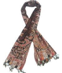 Rubys Collection Brown Viscose Shawls Price in India - Buy ...