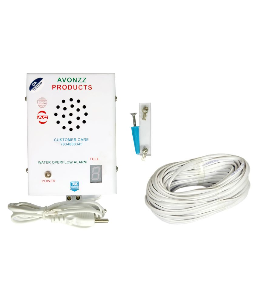 Buy Avonzz AC Water Tank Overflow Alarm with Copper Wire