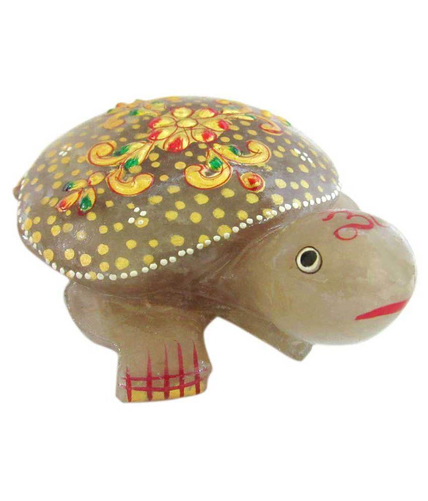 Ss Murti Handicrafts Home Decor Agate Stone Painted Tortoise 4