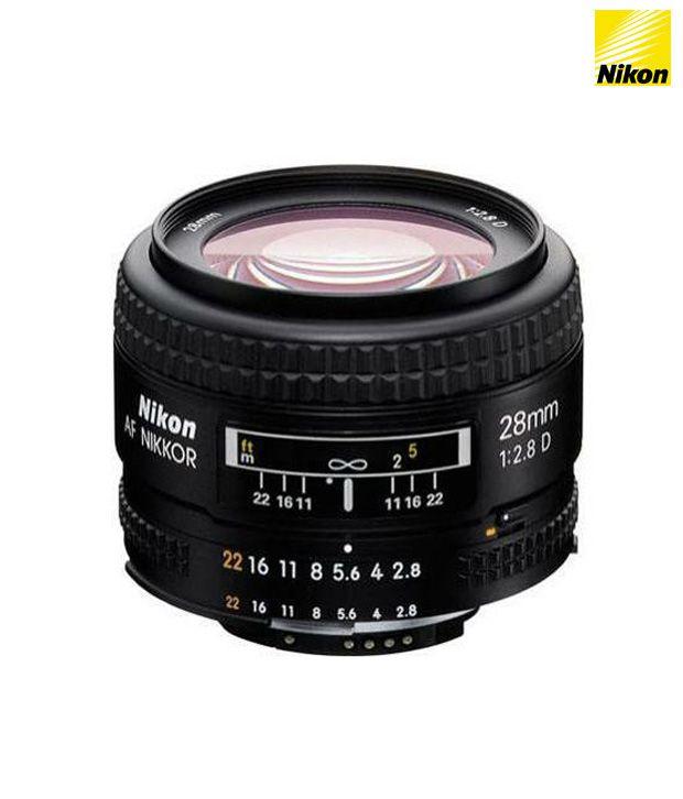 Nikon 28 mm f/2.8 D AF FX Lens Price in India- Buy Nikon 28 mm f/2.8 D AF FX Lens Online at Snapdeal
