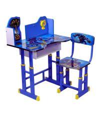 Wood Wizard Transformers Kids Study Table Set - Buy Wood ...