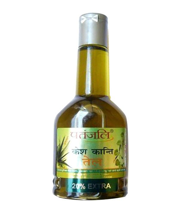 Patanjali Kesh Kanti Hair Oil 120ml Pack Of 2 Pack Of 2