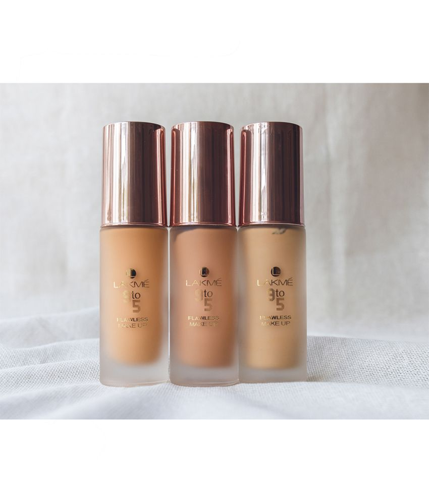 Lakme 9 To 5 Flawless Makeup Foundation S 30 Ml