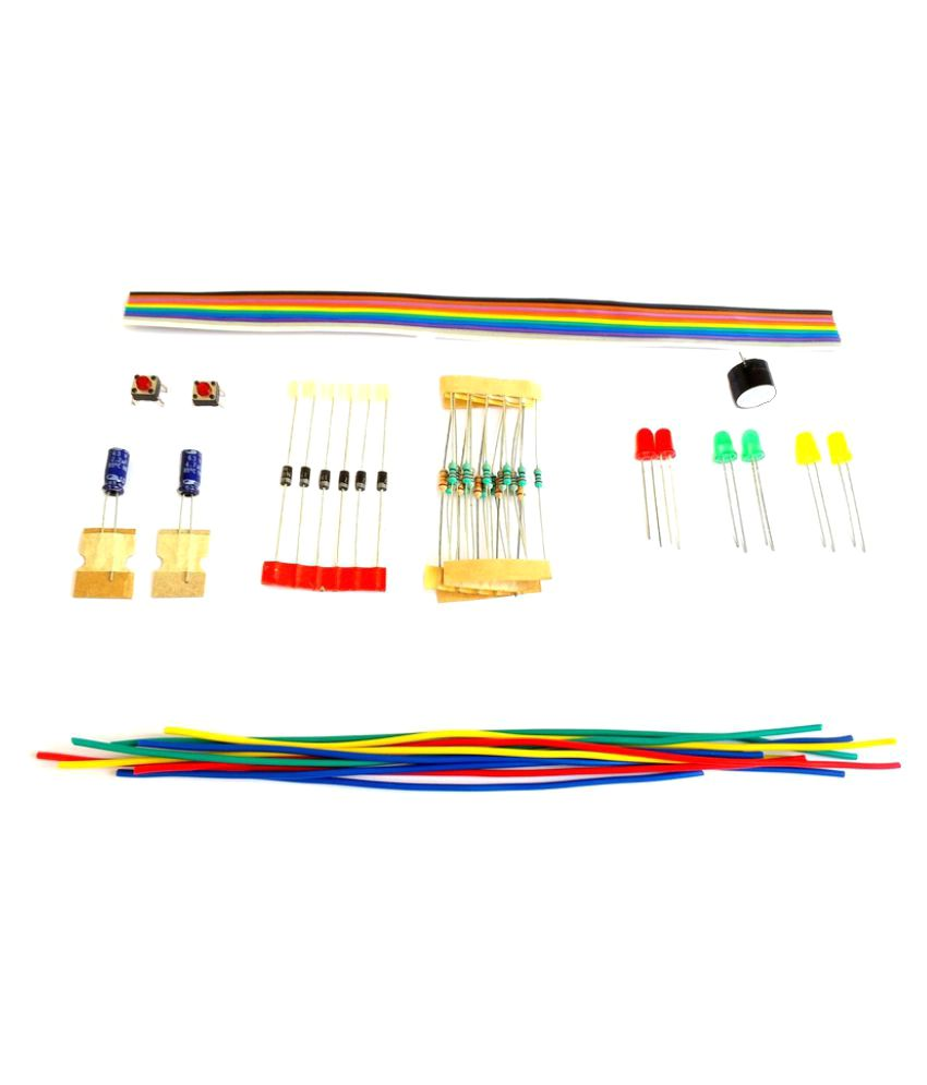 medium resolution of global traders diodes resistors and led buzzer with connecting wires