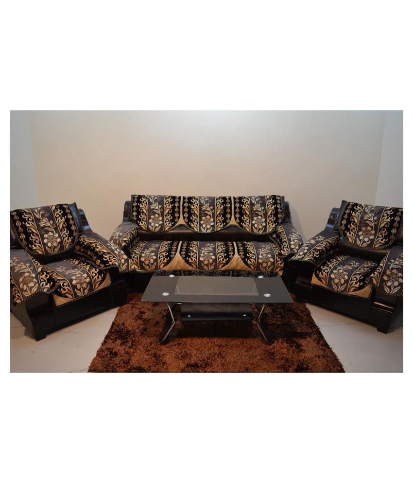 sofa covers low price down feather kingly 5 seater jacquard set of 12 cover buy online at snapdeal