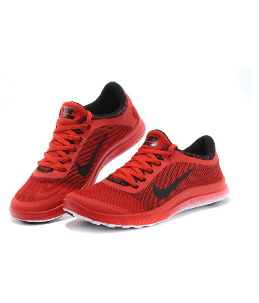 Nike Air FREE 30 RED Running Shoes  Buy Nike Air FREE 3