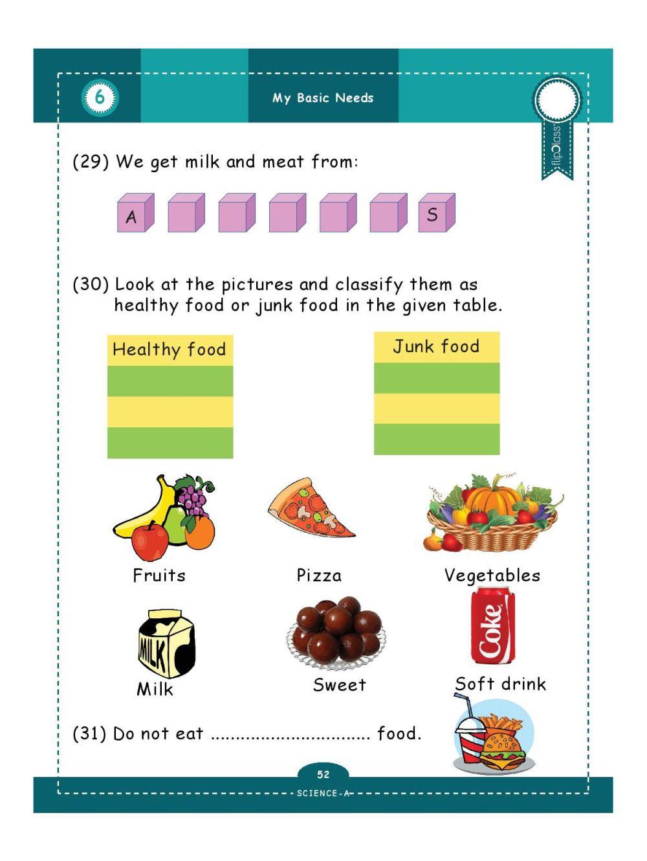 medium resolution of Genius Kids Worksheets (Bundle) for Class 1 (Grade-1) - Set of 6 Workbooks  (English