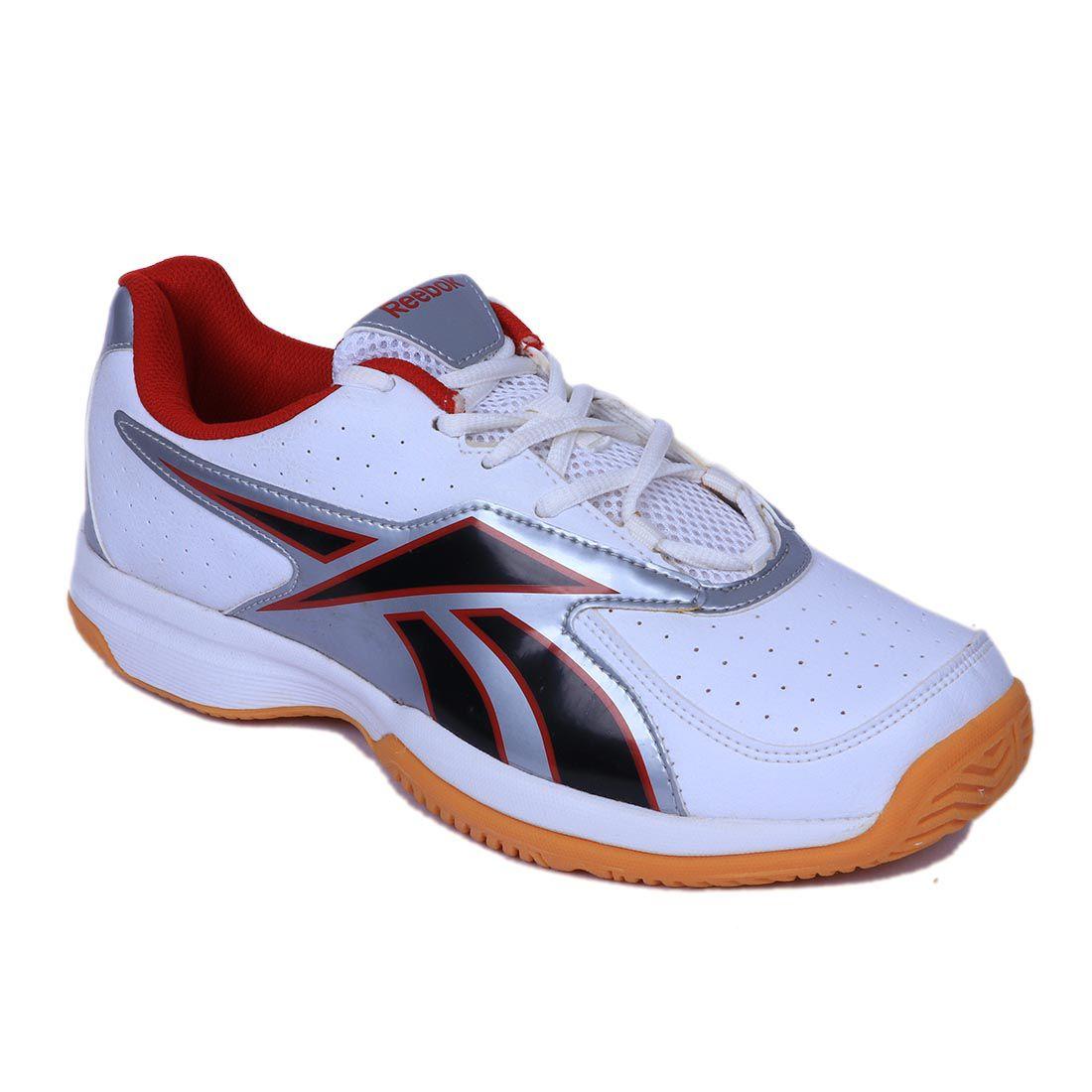 Reebok Match point indoor White Running Shoes - Buy Reebok ...