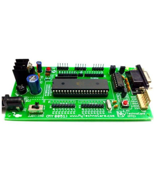 small resolution of  my technocare atmel 8051 development board project evaluation kit max232 at89s52 microcontroller ic