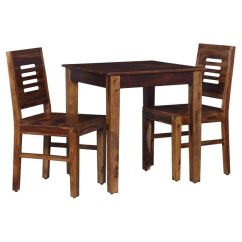 2 Seater Kitchen Table Set Refinish Or Replace Cabinets Ethnic India Art Dining In Sheesham Wood Teak Finish
