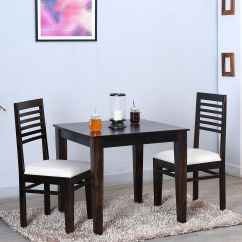 2 Seater Kitchen Table Set Cheap Cabinets Ethnic India Art Dining In Sheesham Wood Teak Finish Buy Online