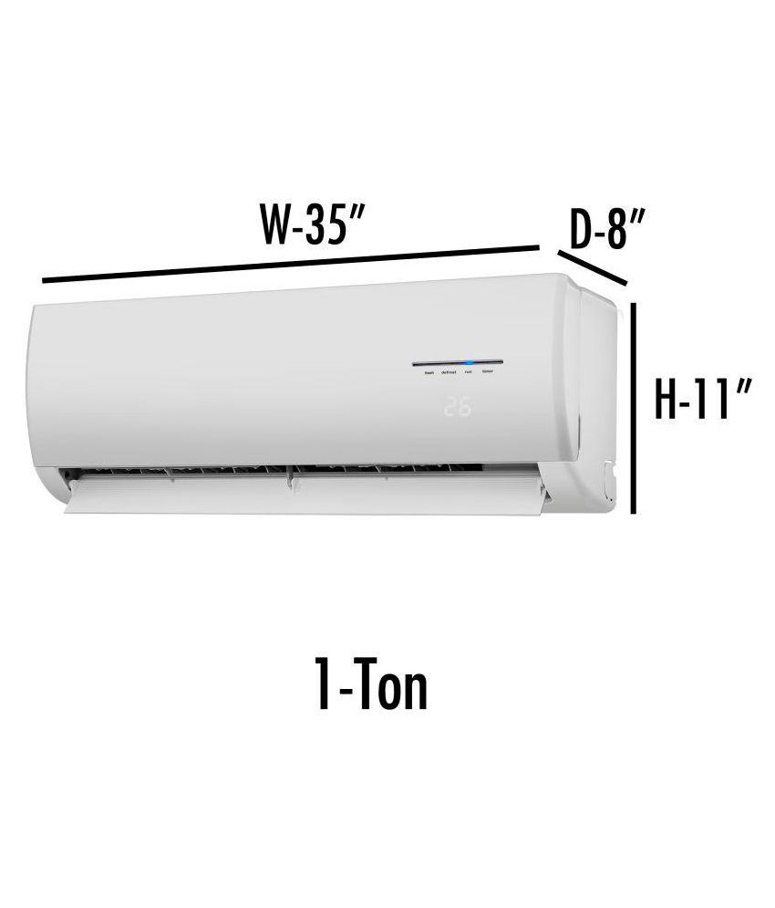 medium resolution of  glassiano single polyester split in ac cover unit 1 ton ac covers