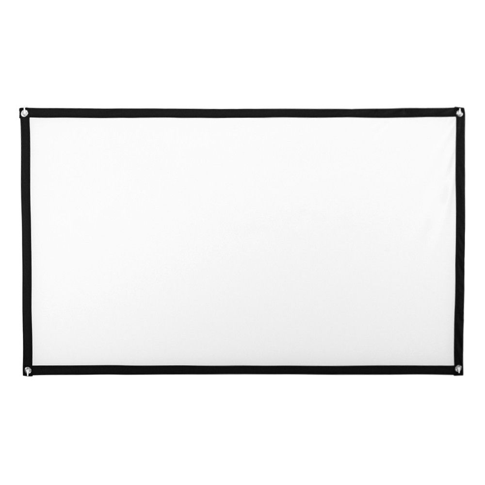 Buy 84inch HD Projector Screen 16:9 Home Cinema Theater