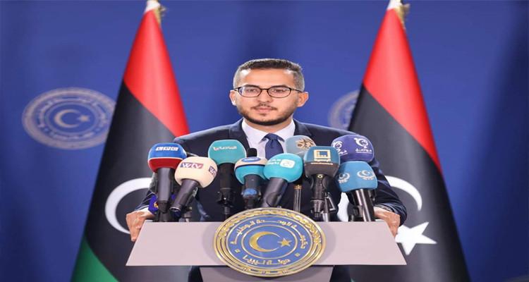 الناطق باسم الحكومة الليبية