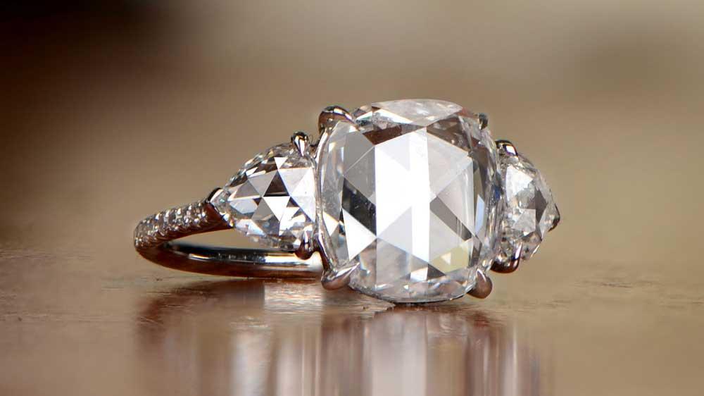 Three Stone Diamond Ring HER4