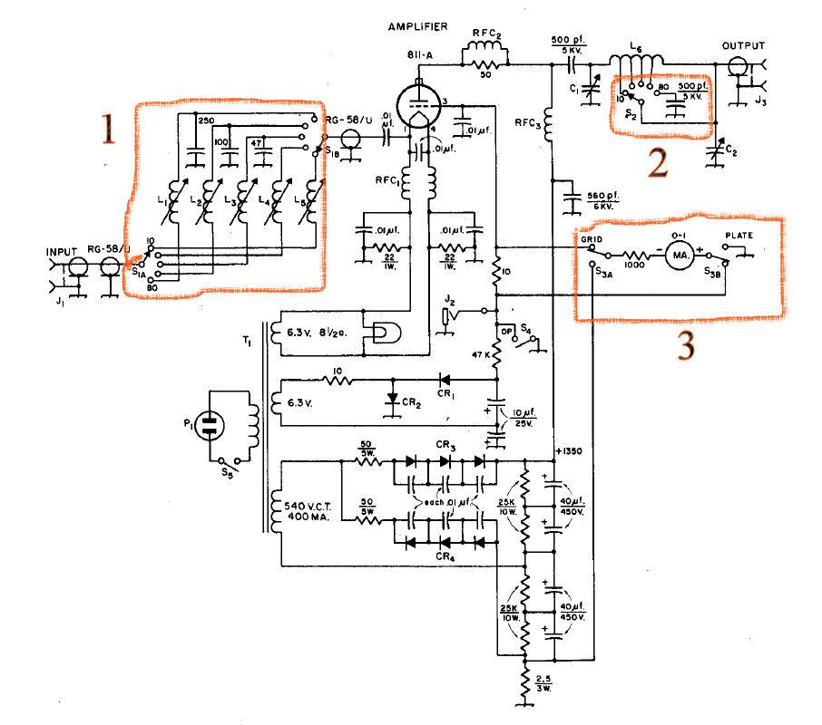 Schematic Of 200 watt amplifier