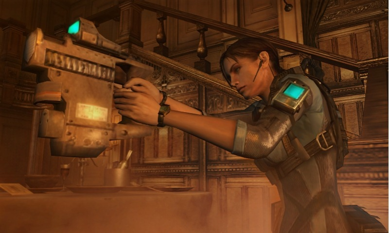 Resident Evil: Revelations Ha una Grafica Migliore di The Mercenaries