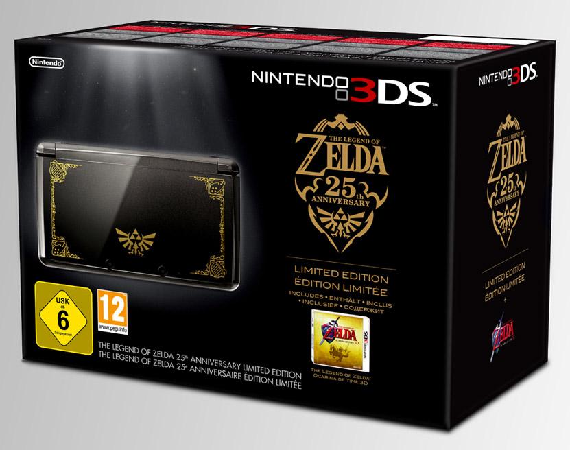 3DS Speciale per l'Anniversario di Zelda