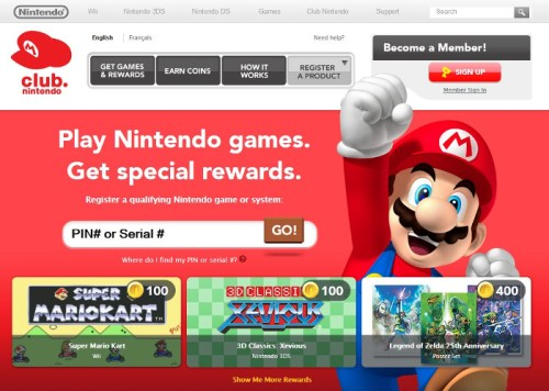 Offerte dei Club Nintendo