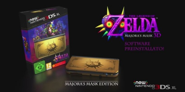 Data Europea/Americana di The Legend of Zelda: Majora's Mask 3D