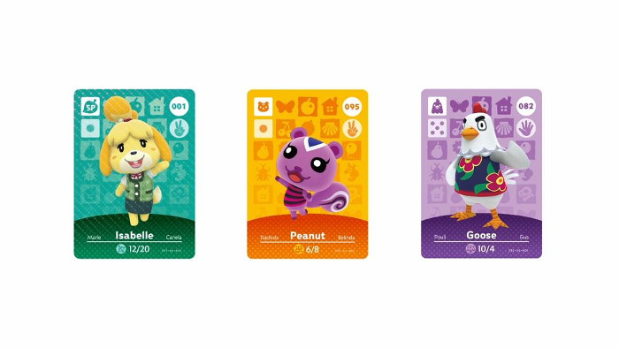 Carte Amiibo per Animal Crossing