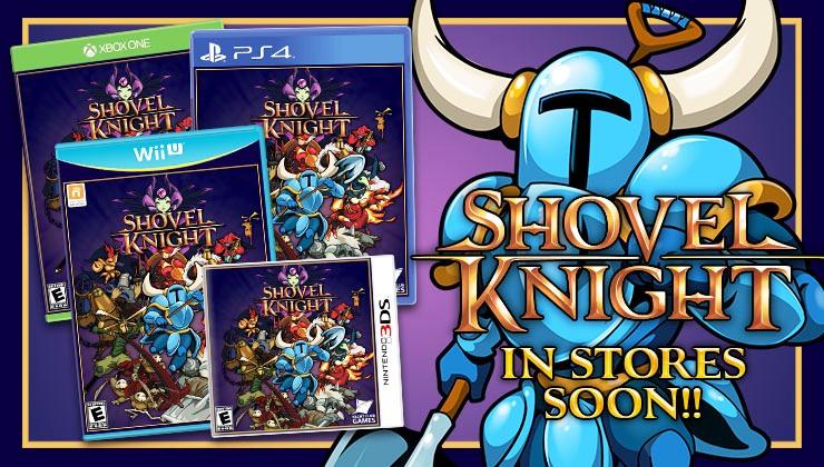 Novità sulla Versione Retail di Shovel Knight