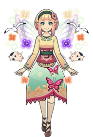 my Fairy System in Hyrule Warriors 3