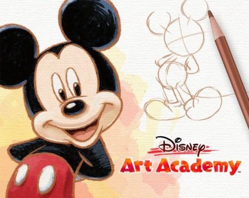 disney art academy arriva su 3DS